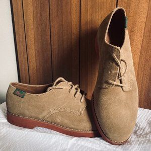 Brown Suede Bass & Co shoes